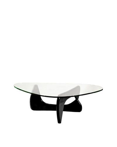 Manhattan Living Tribeca Coffee Table, Black