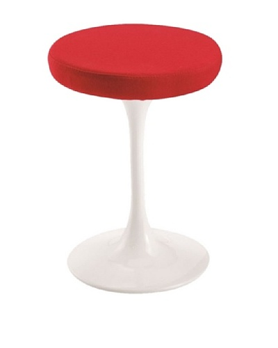 Manhattan Living 25 Flower Stool, Red