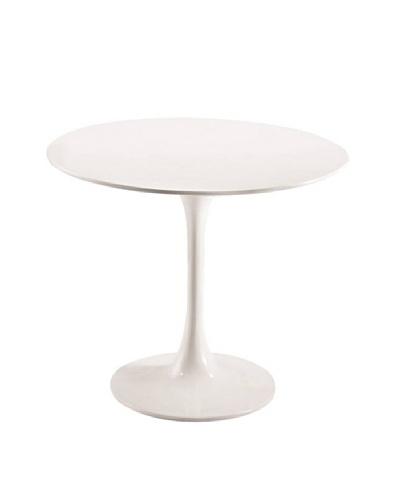 Manhattan Living Flower End/Side Table, White