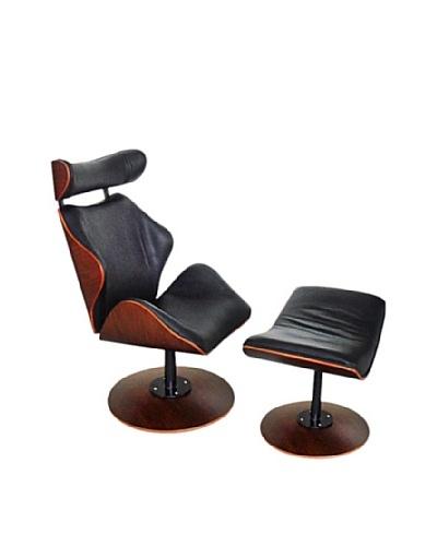 Manhattan Living Luxur Lounge Set, Black