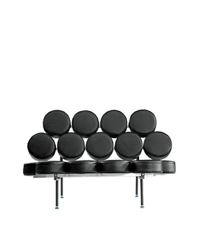 Manhattan Living Circle Sofa, Black