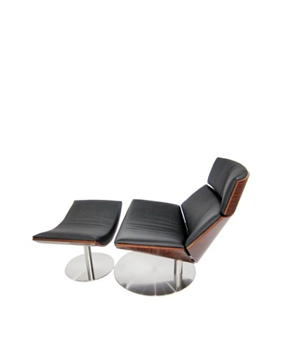Manhattan Living Impress Lounge Set, Black