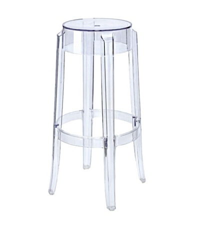 Manhattan Living Clear Counter Stool