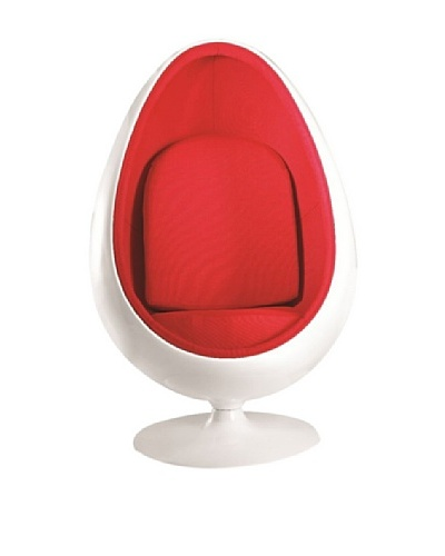 Manhattan Living Easter Chair, Red