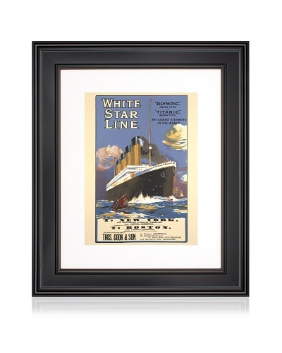 White Star Line, 16 x 20