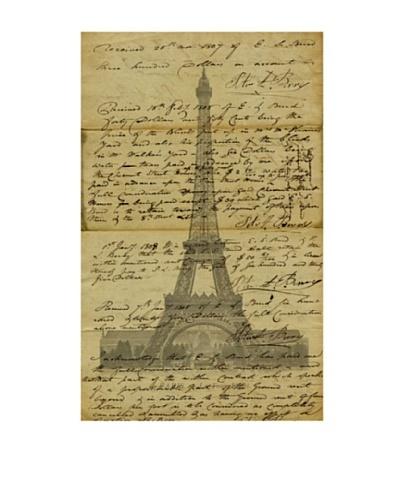 Marcus Jules Paris Letter