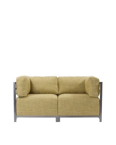 Marley Forrest Coco Peridot Axis 2-Piece Sectional, Titanium Frame