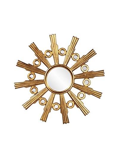 Marley Forrest Calypso Mirror, Bright Gold Leaf