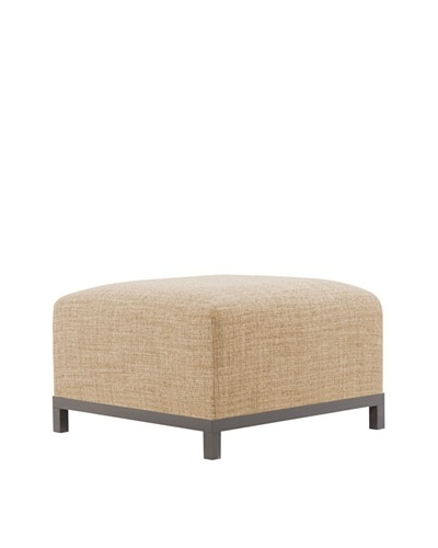 Marley Forrest Coco Stone Axis Ottoman Slipcover