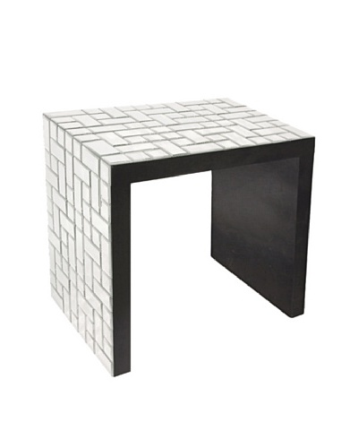 Marley Forrest Tiled-Mirror Accent Table