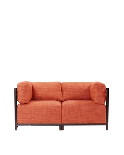 Marley Forrest Coco Coral Axis 2-Piece Sectional, Mahogany Frame