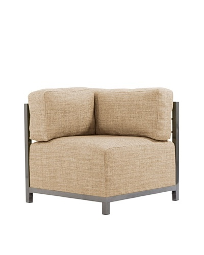 Marley Forrest Coco Stone Axis Corner Chair Slipcover