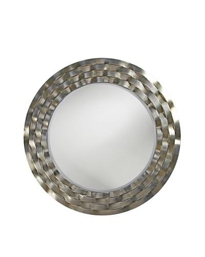 Marley Forrest Cartier Mirror, Silver Leaf/Brass