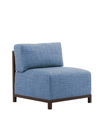 Marley Forrest Coco Sapphire Axis Chair, Mahogany Frame