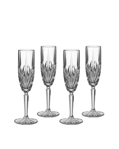 Marquis by Waterford Set of 4 Brookside Flutes