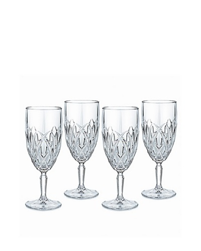 Marquis by Waterford Set of 4 Brookside Iced Beverage Glasses
