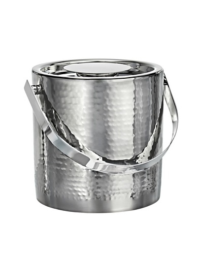 Marquis by Waterford Vintage Stainless Steel Ice Bucket with Tongs
