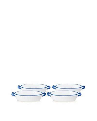 Mason Cash Set of 4 Enamour Gratin Oval Dish