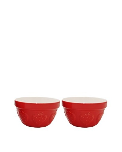 Mason Cash Set 2 Strawberry 6 Mixing Bowls