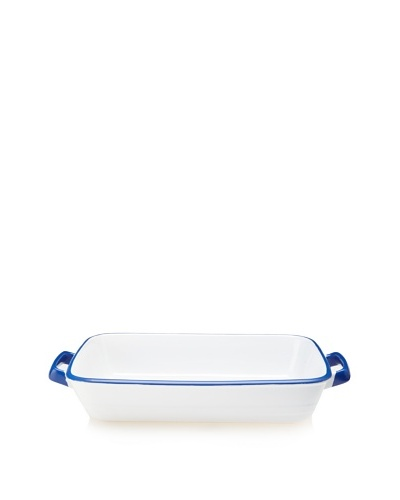 Mason Cash Enamour Rectangle Dish, Blue/White