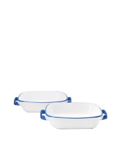 Mason Cash Set of 2 Enamour Square Dishes
