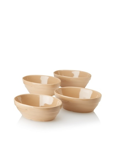 Mason Cash Set of 4 Oval Bakers, Cane, 2-Cup