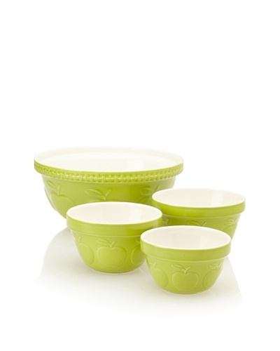Mason Cash Set of 4 Zest Mixing Bowls