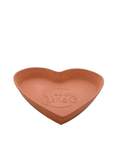 Mason Cash Terracotta Tear & Share Heart Bread Baking Form in Gift Box