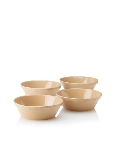 Mason Cash Set of 4 Cane Round Bakers