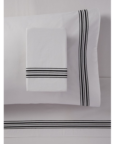 Mason Street Textiles Hotel Piping Sheet Set
