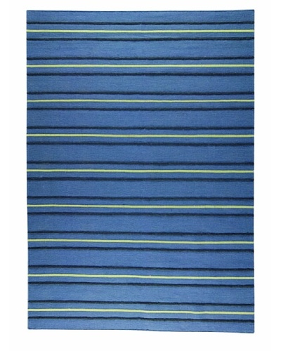 MAT the Basics Savannah Hand-Woven Rug [Blue]
