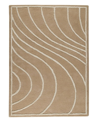 MAT the Basics Lake Placid Hand-Tufted Rug [Cream]