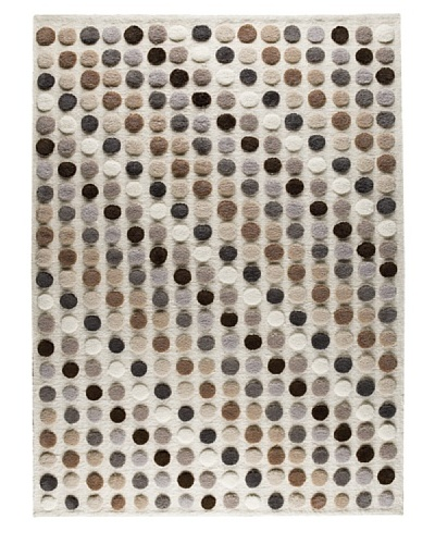 MAT the Basics Smarties Hand-Knotted Rug [Natural/Multi]