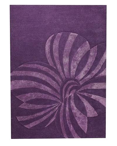 MAT the Basics Jasmine Hand-Carved & Tufted Rug [Violet]