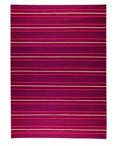 MAT the Basics Savannah Hand-Woven Rug [Red]