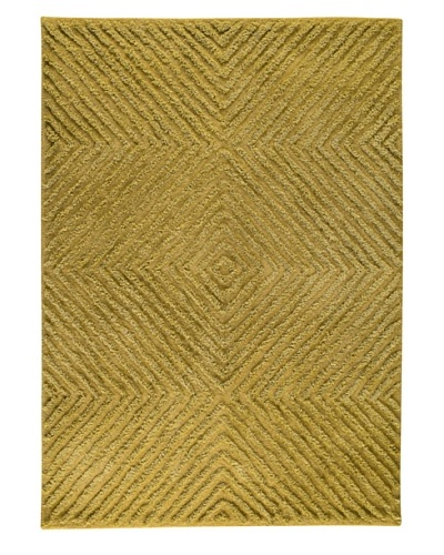 MAT the Basics Buffalo Hand-Tufted Shag Rug [Green]
