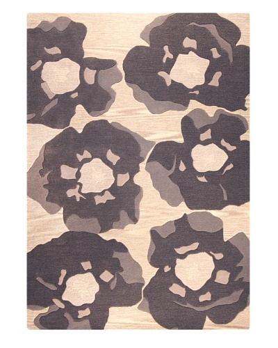 MAT the Basics Poppy Hand-Tufted & Carved Rug [Grey]