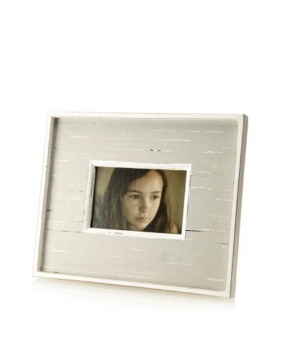 Matahari Handmade Wood Frame, Grey Stripe
