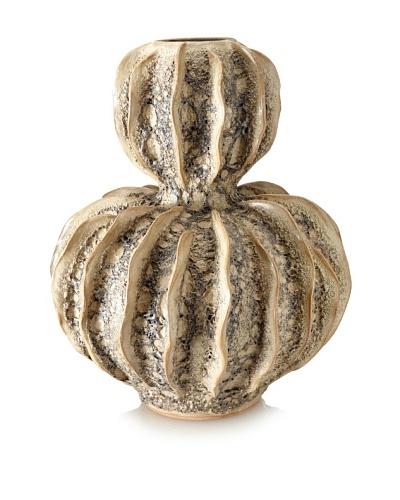 Matahari Moss Gourd Ceramic Vase