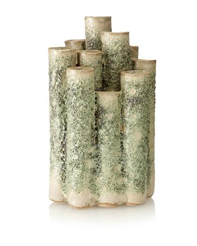 Matahari Moss Straight Ceramic Coral Vase