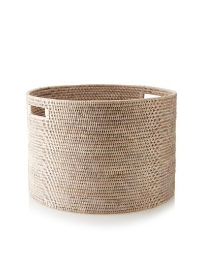Matahari Round Handwoven Open Storage Basket