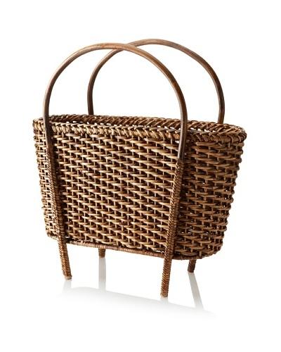 Matahari Handwoven Magazine Basket