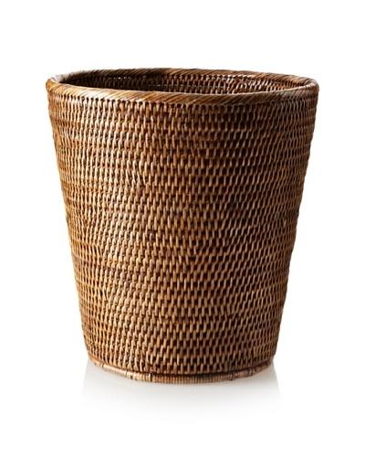 Matahari Handwoven Round Waste Basket