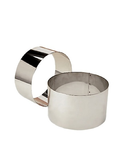 Matfer Bourgeat Stainless Steel Bread Ring, 3.5 x 7.75