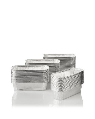 Matfer Bourgeat 100-Pack of Rectangular Cake Molds, 3 x 8