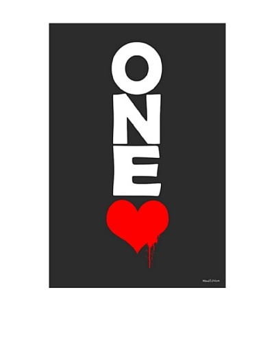 Maxwell Dickson One Love Canvas Art