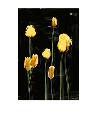 Maxwell Dickson Yellow Tulips