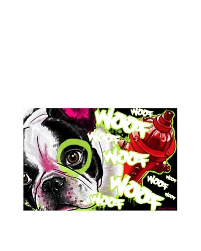 Maxwell Dickson French Bulldog Canvas Wall Art 20 x 30