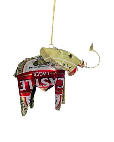 Mbare Tin Elephant Ornament