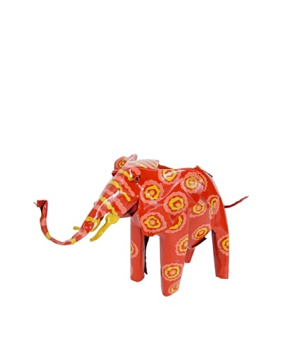 Mbare Painted Tin Elephant